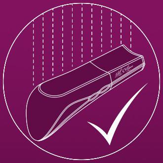 The AMO Vibrator is 100% Waterproof