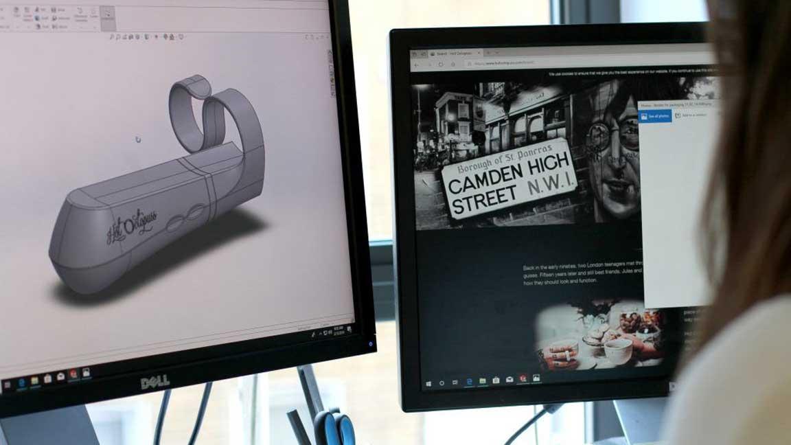 Designing the DiGiT initial prototype