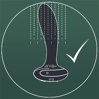 The 'Plex with flex' is 100% waterproof