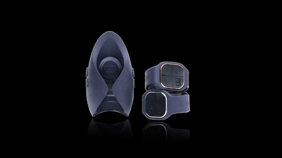 Pulse Duo Lux toy and wrist remotes
