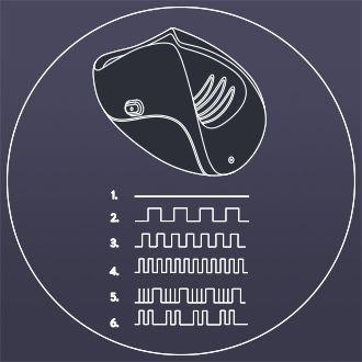 Pulse Solo Vibration Patterns Diagram - Guybrator