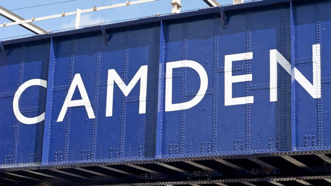 Camden Bridge in London