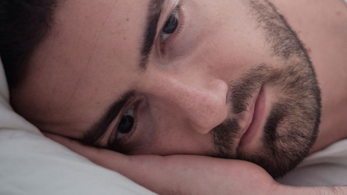 Man looking sad because of erection problems