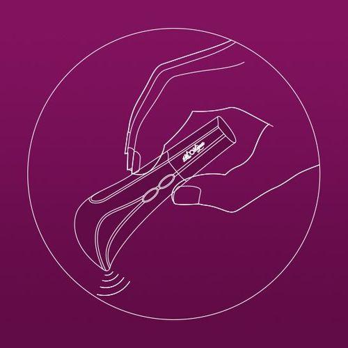 CLITORAL TARGETING BULLET Vibrator - Simple Grip