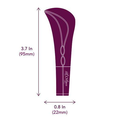 AMO Bullet Vibrator Dimension: 95x22x13mm