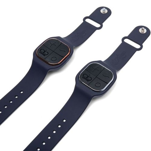 The Male and Female Watch straps that control individual motors remotely on the Luxury Couples Sex Toy