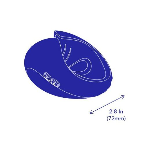 PULSE DUO product size width in mm and inches