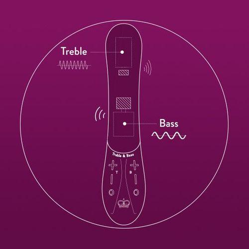 Kurve G-Spot Vibrator with Treble and Bass Technology