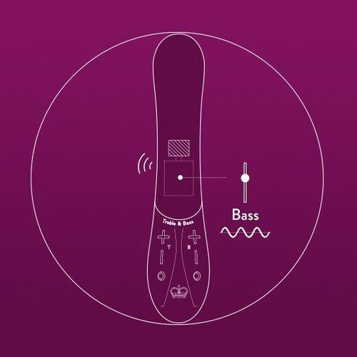 Kurve G-Spot Vibrator with Bass Technology highlighted