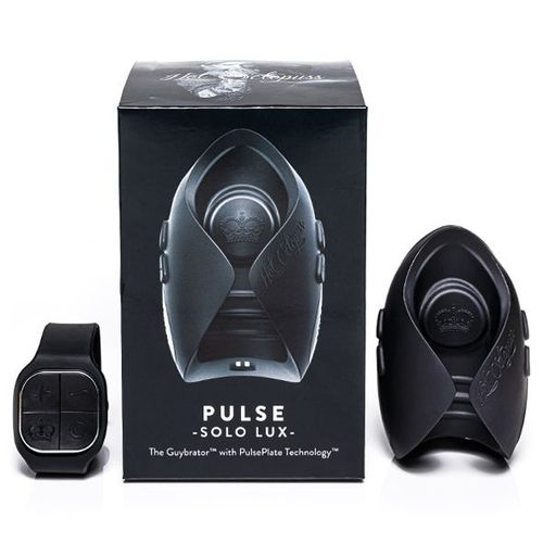 PULSE SOLO LUX Award Winning Male Sex Toy with Watch remote control and Product Box