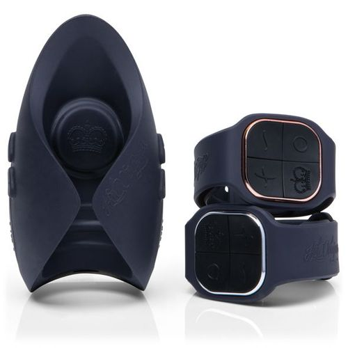 PULSE DUO LUX with both male and female watch remotes stacked togeher