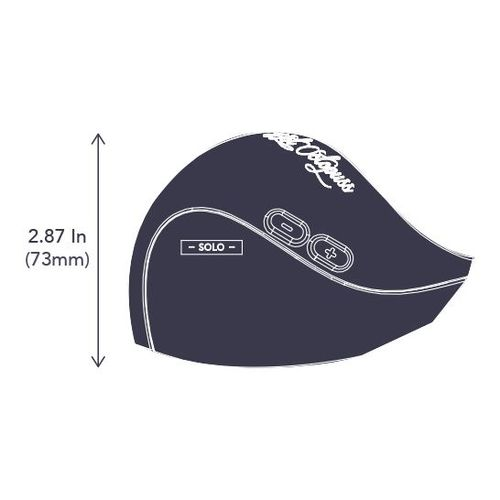 Pulse Solo LUX Size (height - side down)